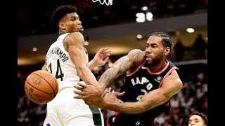 Milwaukee Bucks vs Toronto Raptors_Game 1_NBA Playoffs 16 May 2019