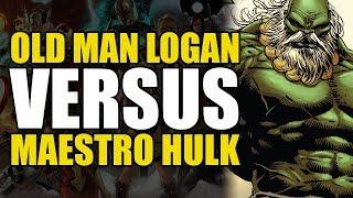 Old Man Logan vs Maestro Hulk! (ANAD Old Man Logan Vol 6: Days of Anger)