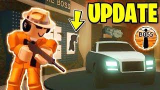 BIGGEST Jailbreak UPDATE Monday!? *NEW!* | ASIMO3089 BADCC TESTING | Roblox Jailbreak Weapon Update