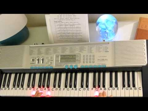 How to Play ~ Turkish March (slow motion) ~ Mozart ~ LetterNotePlayer ©