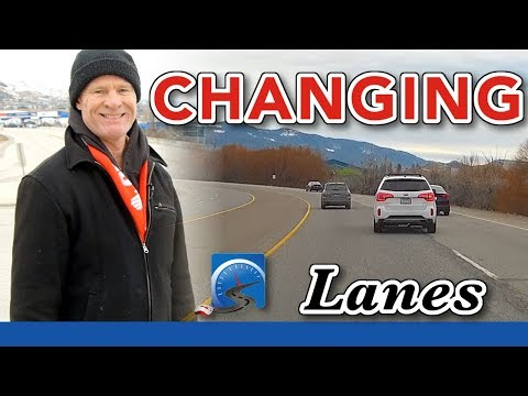 How to Change Lanes While Driving Properly & Judge a Safe Gap