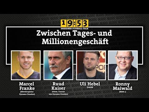 19:53 - DER DRESDNER FUSSBALLTALK   22. Sendung   Zwischen Tages- und Millionengeschäft