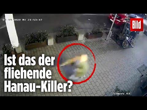 Dieses Video soll zeigen, wie der Hanau-Killer flieht