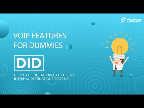 VoIP Features for Dummies - Direct Inward Dial (DID)