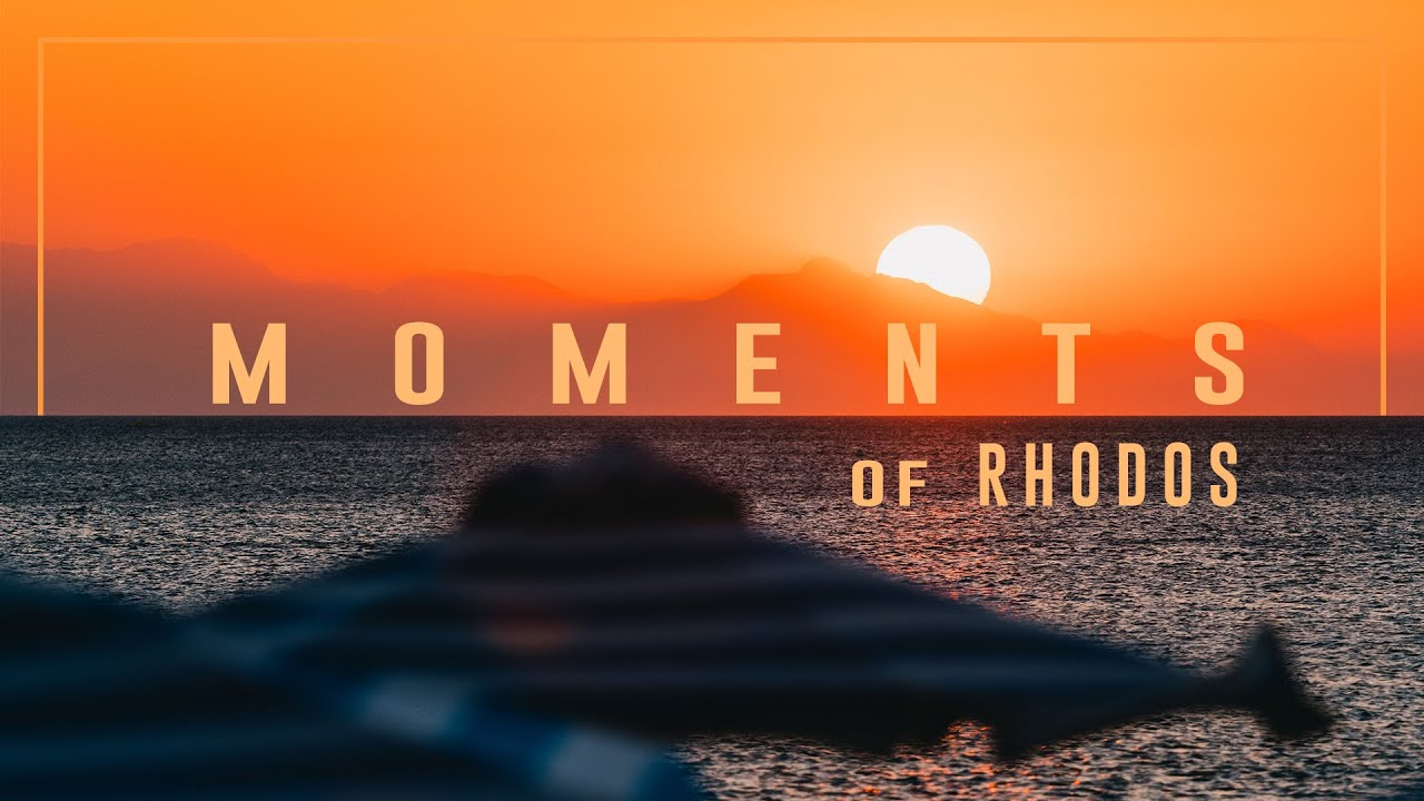 Moments of Rhodos - Greece / Feiyu Tech AK2000