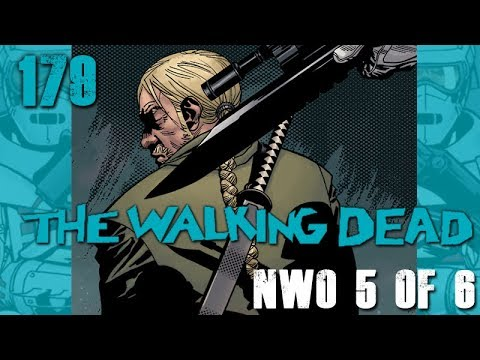 The Walking Dead 179 New World Order 5 of 6 - Cover Revealed!
