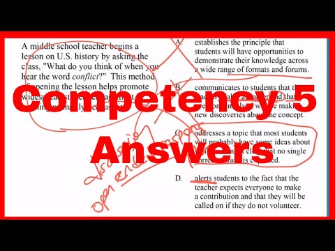 PPR Competency 5 | Answers Explained - Pearson - YouTube