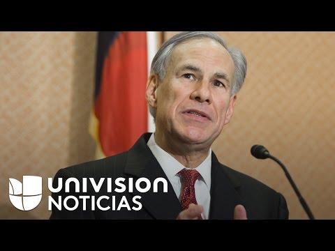 Controversia e indignación por declaraciones del gobernador de Texas sobre los inmigrantes