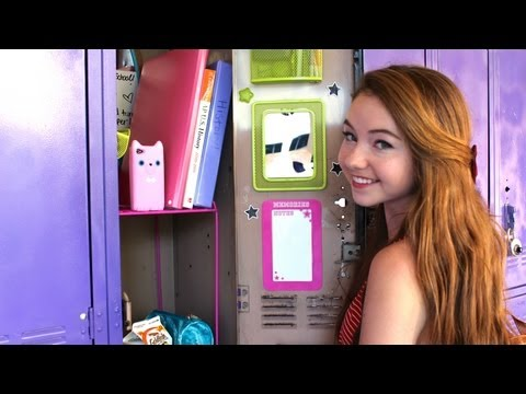 Back To School: Locker Organization & Essentials!