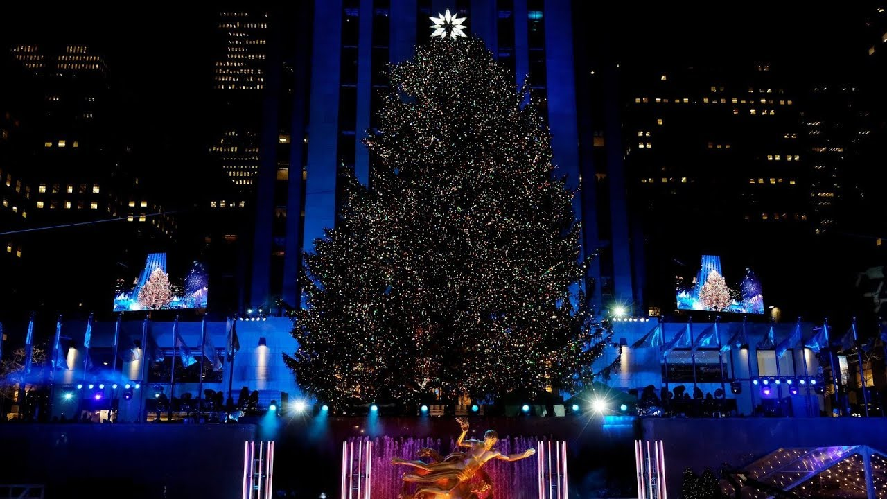 240 miles and 50000 lights the rockefeller center tree - How Many Lights Are On The Rockefeller Christmas Tree
