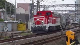 E235系1000番台 (サロ235-1001・サロ234-1001)甲種輸送 逗子駅にて