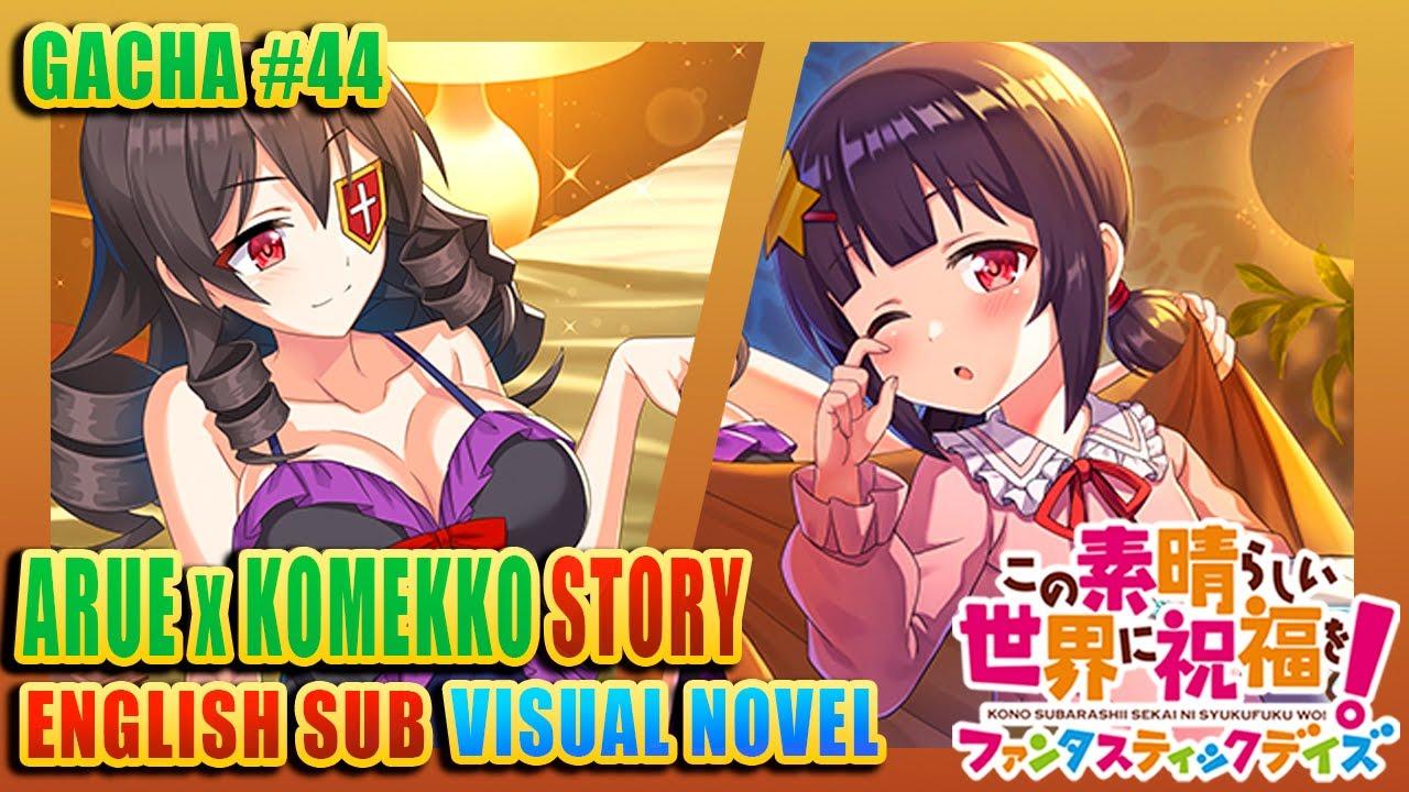 KONOFAN | GACHA STORY | Arue and Komekko enjoy a Pajama Night #44