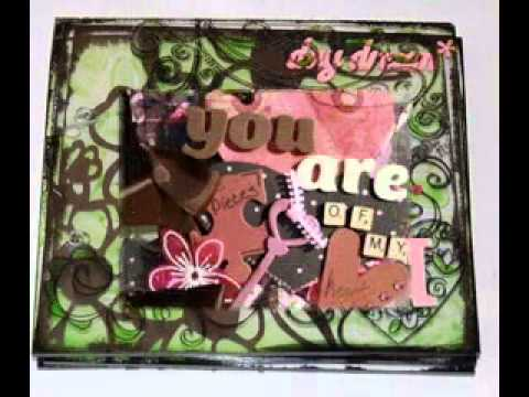 DIY Scrapbook Album Ideas