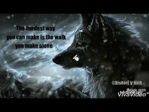 Lone wolf motivation quotes
