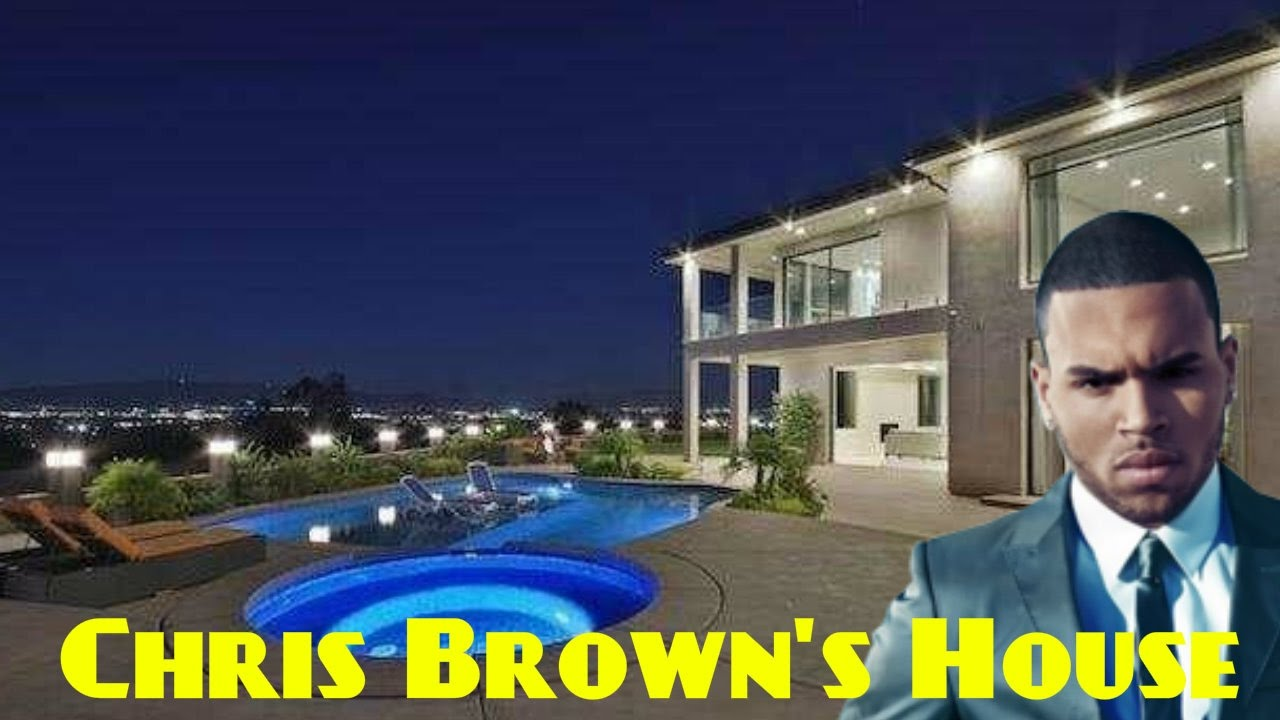 chris brown's house 2017 - youtube
