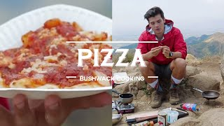 Pan Fried Pizza, Bushwack Cooking Episode 3 By The Fat Kid Inside