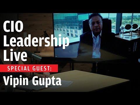 CIO Leadership Live With Guest Vipin Gupta, CIO, Toyota Financial Services