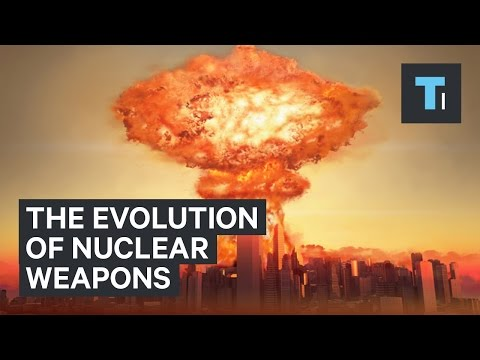 Animation shows the deadly evolution of nuclear weapons