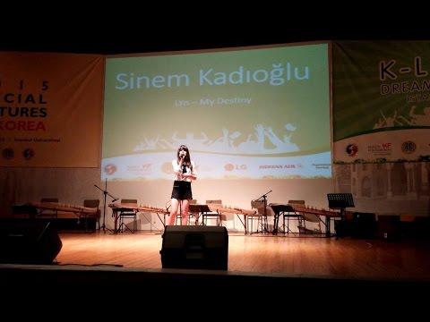 LYn - My Destiny COVER by Sinem Kadıoğlu K-LOVER DREAM FESTIVAL