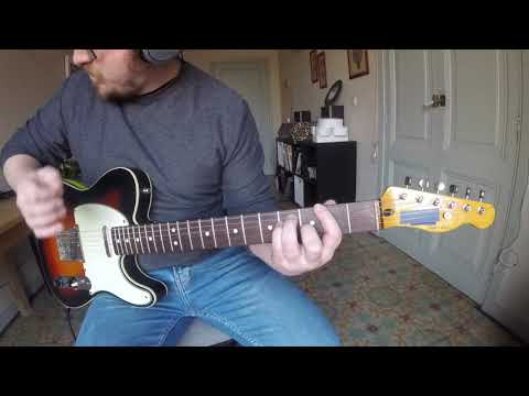 Creedence Clearwater Revival 'Travelin' Band' guitar cover. Mp3