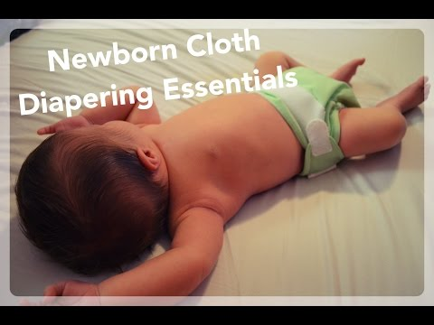 Newborn Cloth Diapering Essentials - Cloth Diapering 101 Lesson 9 | NaturallyThriftyMom