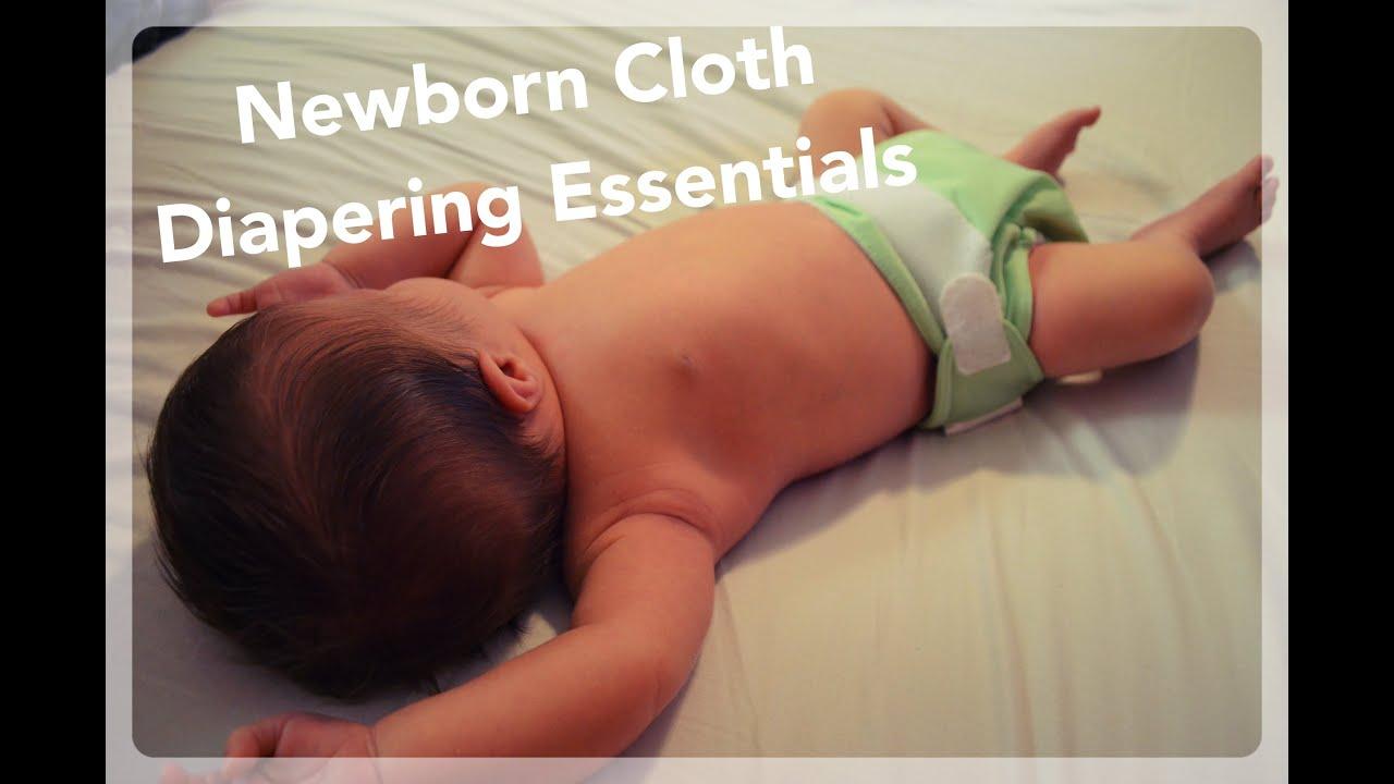 Newborn Cloth Diapering Essentials - Cloth Diapering 101 Lesson 9 | NaturallyThriftyMom