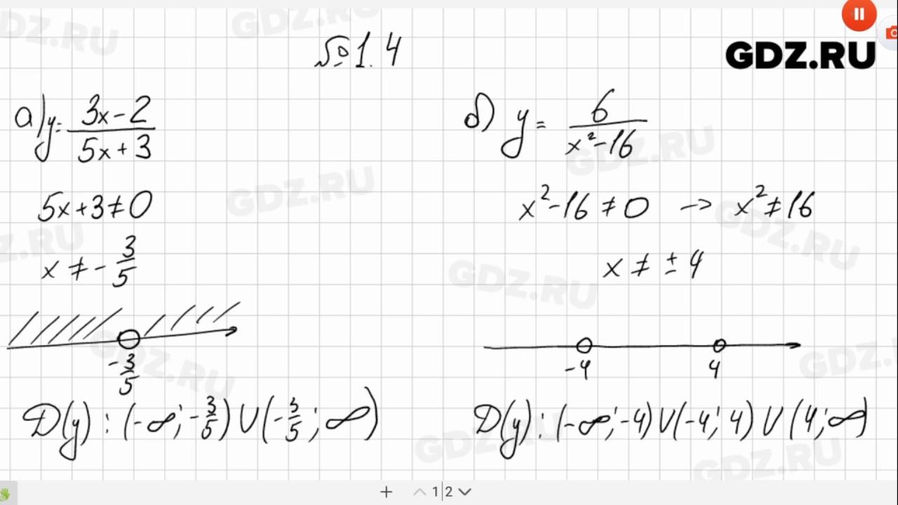Гдз по алгебре 2018год 10-11 класс а г мордкович