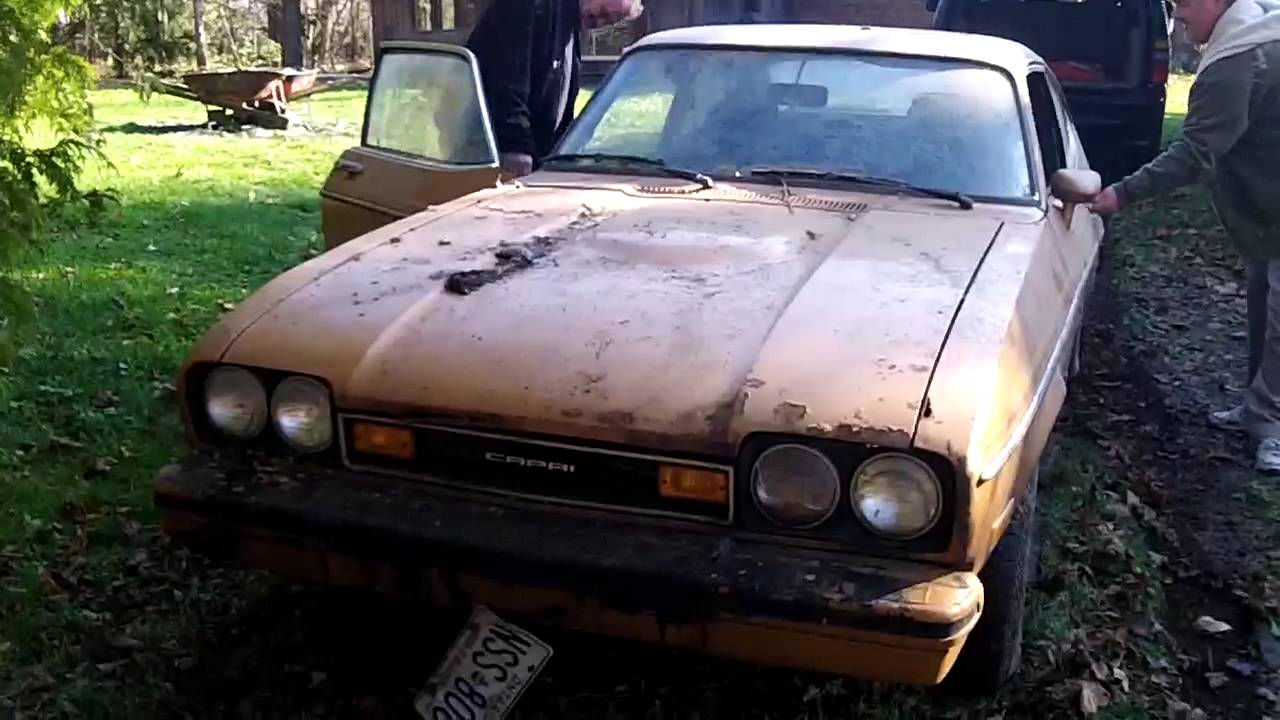 Ford Capri Barn Find