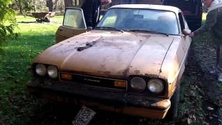 Ford Capri Barn Find....