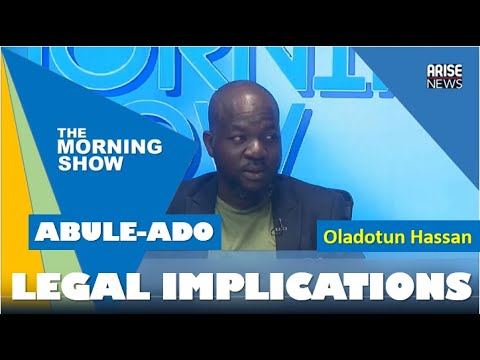 Legal implications of Lagos explosions - Oladotun Hassan