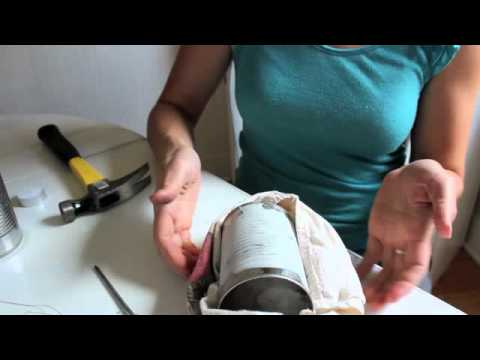 How to Make Lanterns with Tin Cans