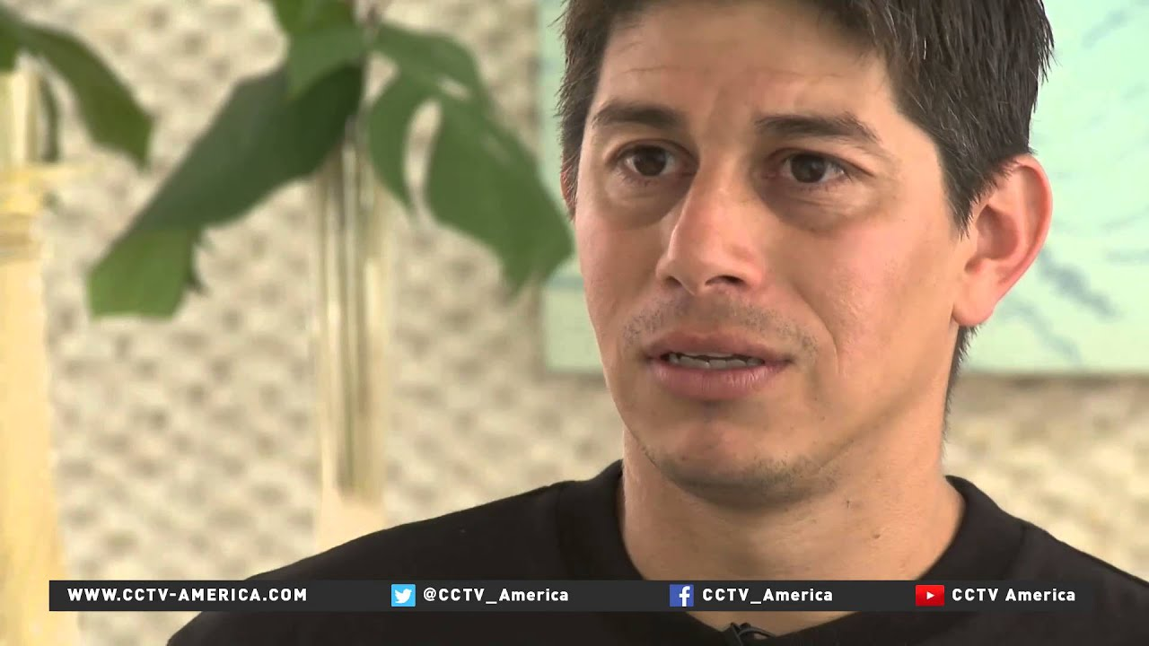 CCTV Exclusive with footballer Dario Conca