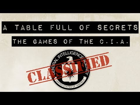 A Table Full Of Secrets: We Review The CIA's Classified Board Game