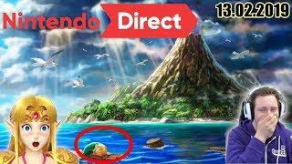 Best of Nintendo Direct 13.02.19! | Stream-Zusammenschnitt | HerrConsolero