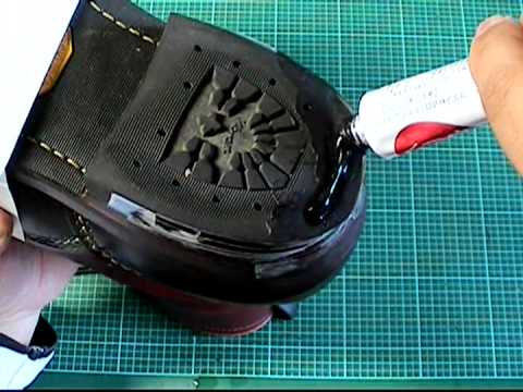 【靴のかかと修理】を自分でやる方法②<動画あり>ワーク系ブーツ(カーブヒール)【054】