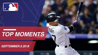 Top 10 Moments around MLB: September 5, 2018