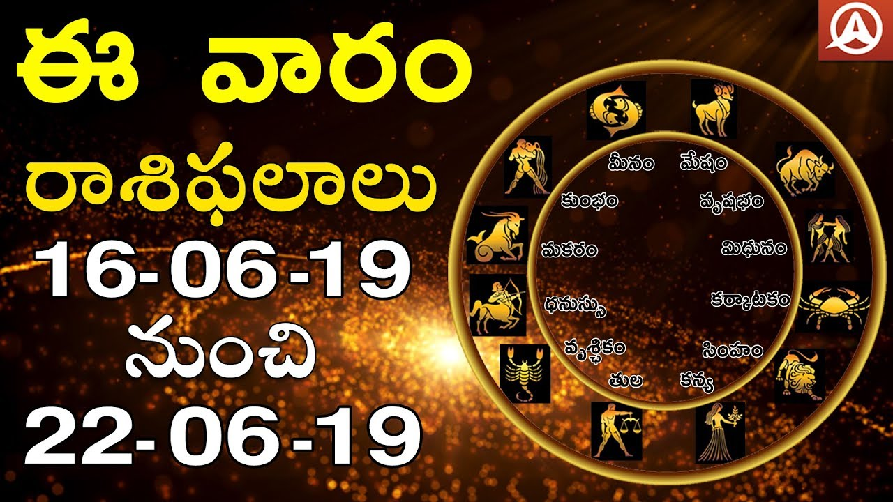 Weekly Rasi Phalalu l June-16th to June-22nd l Nageswara