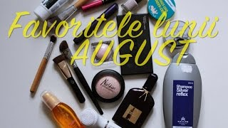 Favoritele lunii: AUGUST 2015 | Kallos, Melkior, Oriflame, Tom Ford, Sleek, Braun