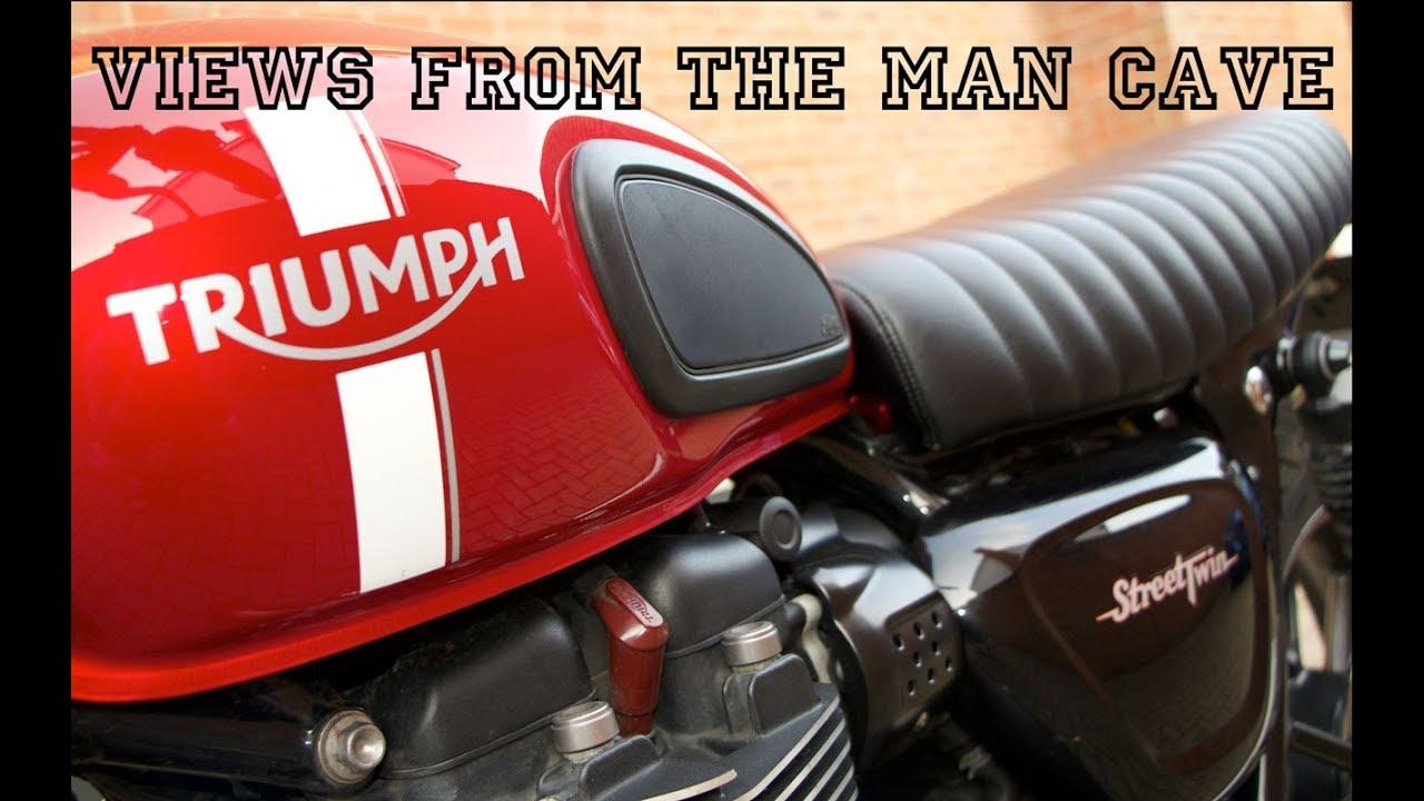 British Customs Slammer Seat Comparison Review For Triumph