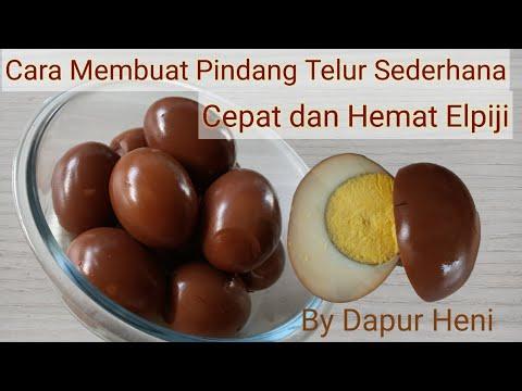 Cara Membuat Pindang Telur Sederhana, Cepat Dan Hemat Elpiji