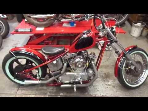 1974 Harley Ironhead Sportster Kickstart XLCH