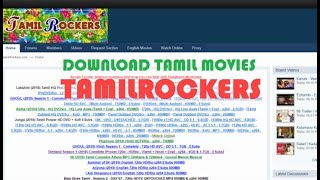 #TamilRockers  Download Tamil Movie #VPN