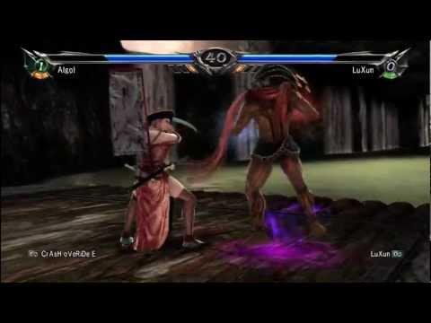 Soul Calibur 5 - Unlocking ALGOL Tutorial - Gameplay