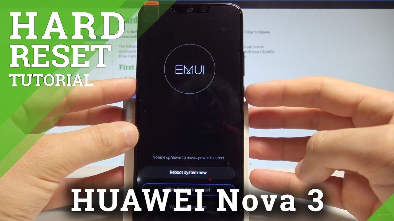 How to Hard Reset HUAWEI Nova 3 - Bypass Screen Lock / Password Removal