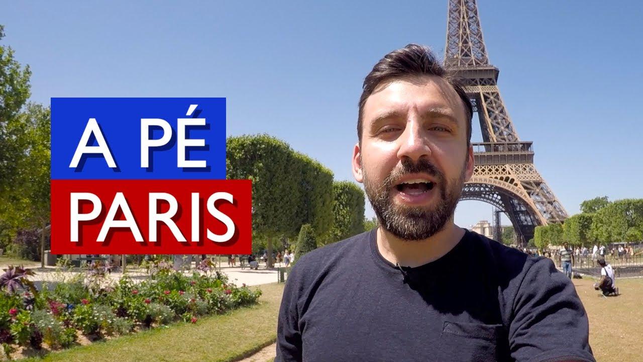 A Pé - PARIS, França