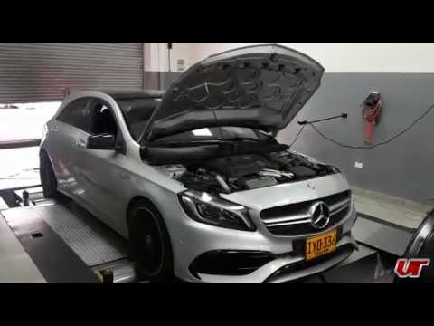 mercedes a45 amg launch and dyno pull with weistec package youtube. Black Bedroom Furniture Sets. Home Design Ideas
