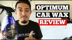 Optimum Car Wax Review - Auto Detailing Product Review