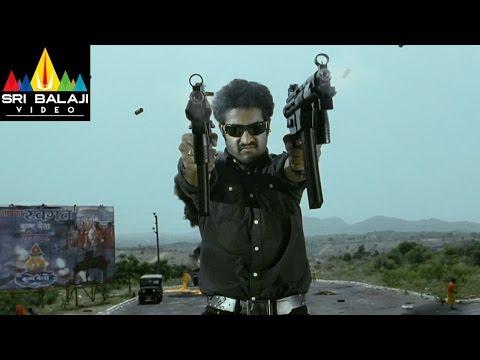 Shakti Movie Jr.NTR Highlight Action Scene | Jr.NTR, Ileana | Sri Balaji Video