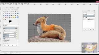 GIMP: How to Make a Background Transparent