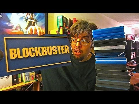 Blockbuster Video Haul & Blu Ray/DVD Update 2014